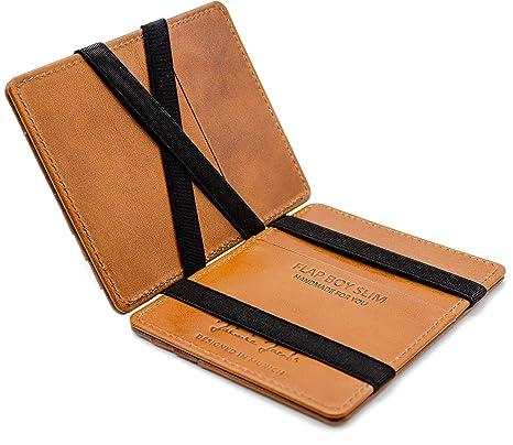 b3e30e9d02 JAIMIE JACOBS Portafoglio Magico, Magic Wallet Flap Boy Slim - l'Originale  - Protezione