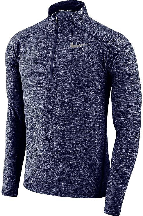 Nike - Dry Element Half Zip - Camiseta de Running para Hombre ...