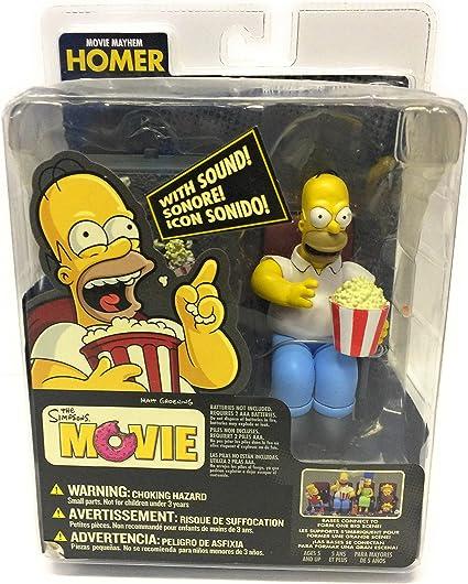 Amazon Com Official Mcfarlane The Simpsons Movie Homer Movie