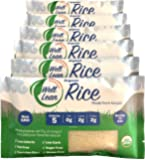 Organic Well Lean Rice, 6 Pack, 9.52 oz, Premium Shirataki Konjac Pasta, Keto Friendly, Non Gmo, Ready to Eat, Low…