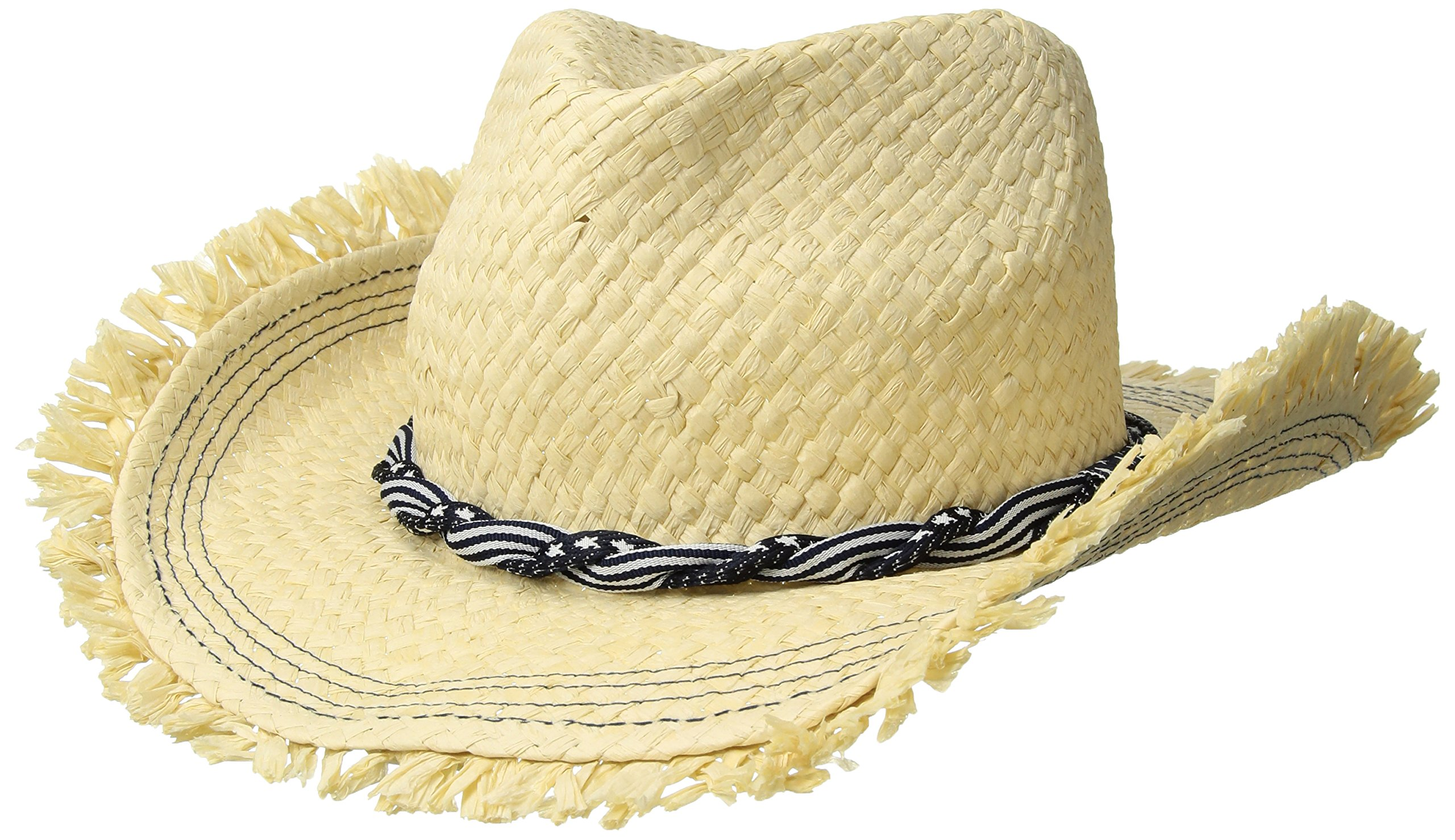 Roxy Junior's Beach Wearing Fedora Hat, Natural, S/M