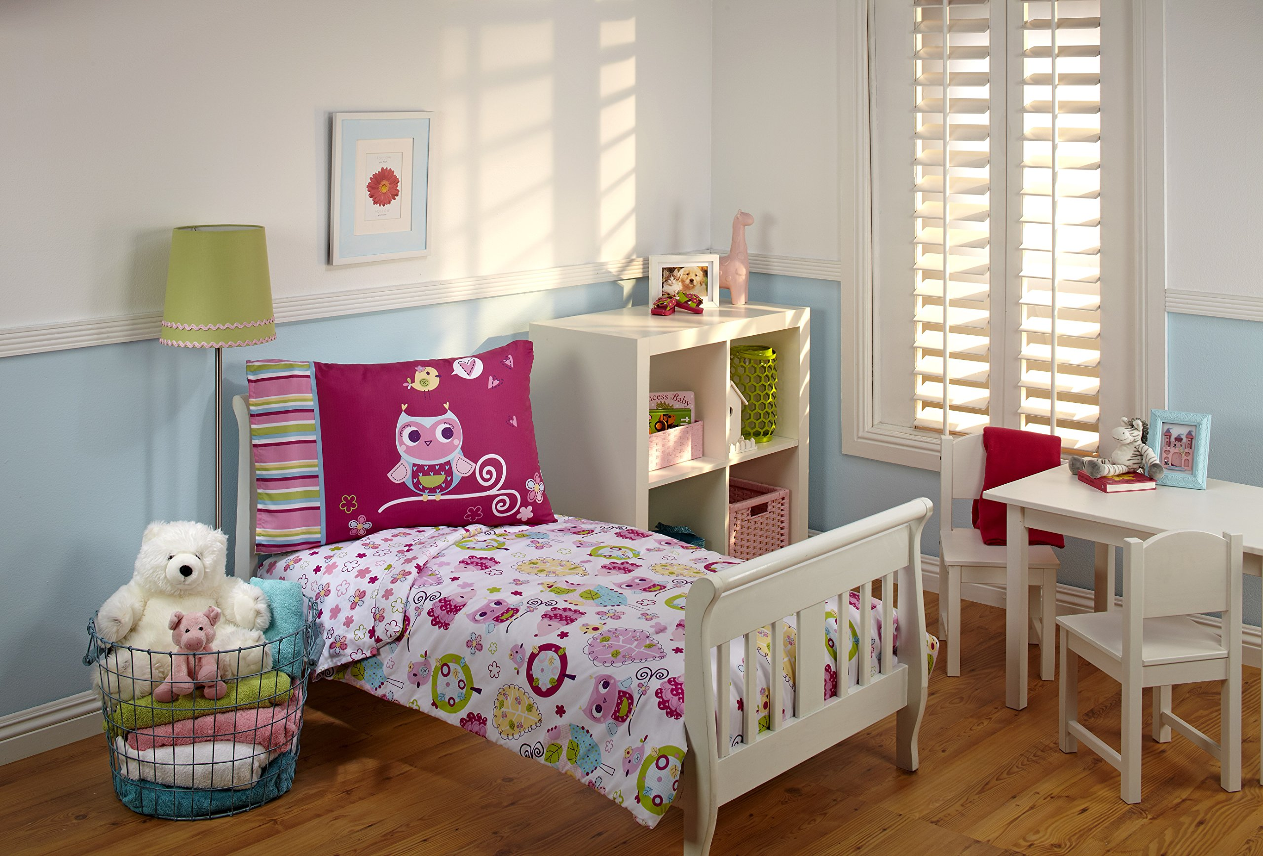 Everything Kids Toddler Bedding Set, Hoot Hoot Product Image