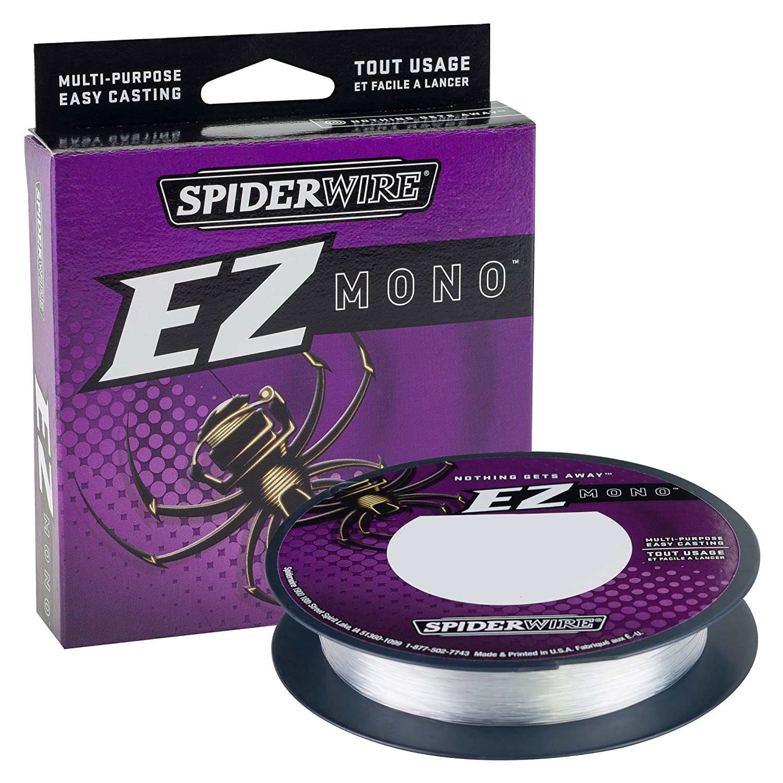 Spiderwire EZ Fishing Line Braid Fluorocarbon Monofilament