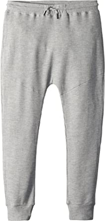 793153b88843 Amazon.com  SUPERISM Baby Boy s Jude Soft Thermal Jogger (Toddler Little  Kids Big Kids) Heather Grey 14  Clothing