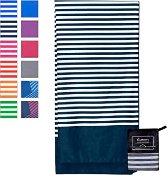 softan Microfiber Towels Set,Sports /& Travel /& Beach Towel,Fast Drying,Super Absorbent,Ultra Compact Suitable for Camping Backpacking 2 Pack Gym Swimming Beach