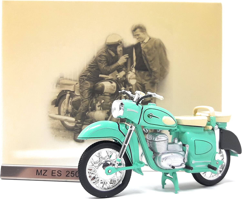 MZ ES 250 Maßstab 1:24 Motorrad Modell von Atlas