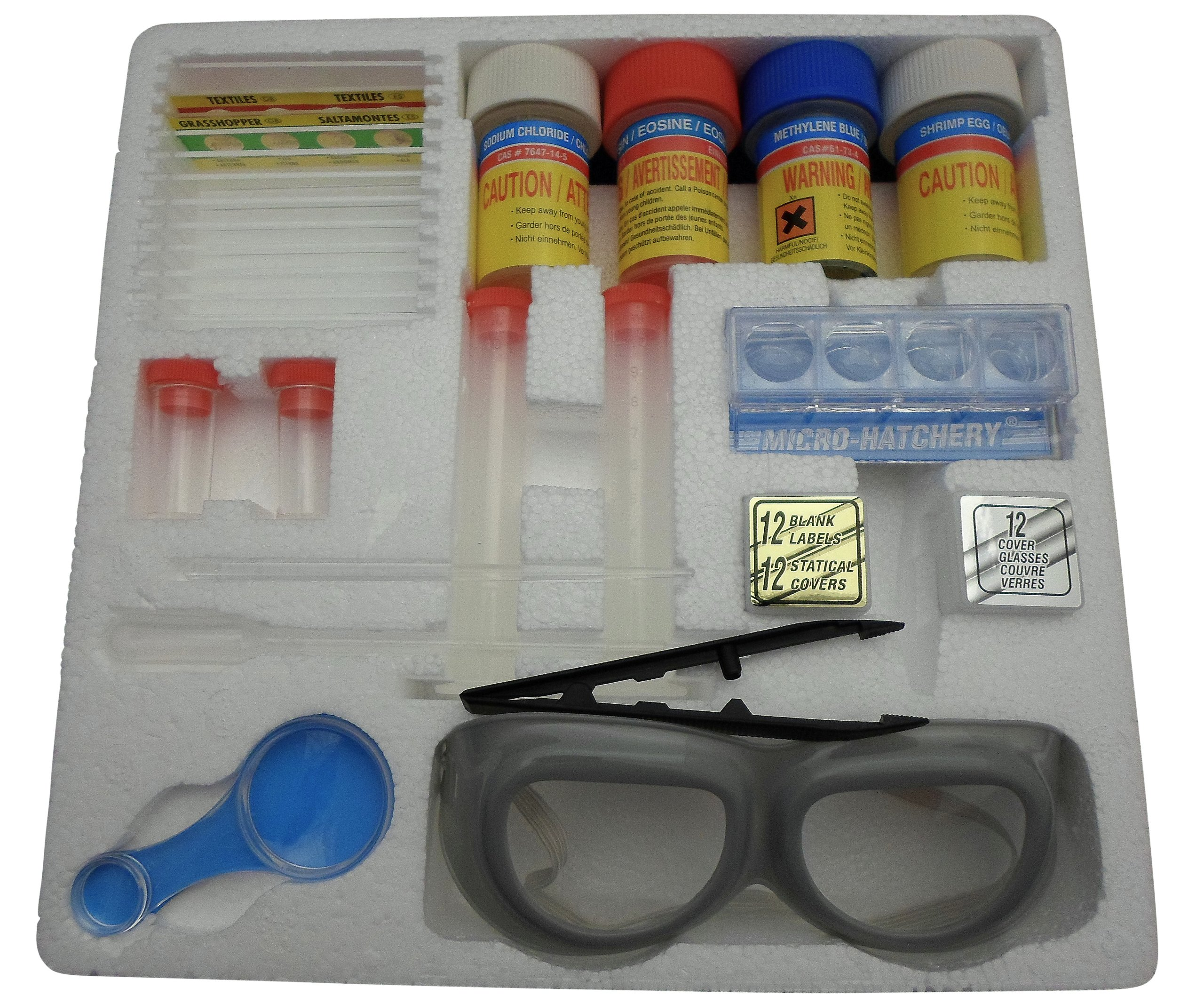 Ajax Scientific 63 Piece Slide Making Kit by Ajax Scientific