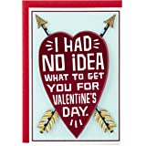 Hallmark Shoebox Funny Valentine's Day Greeting Card for Romantic Partner (Heart and Arrows)