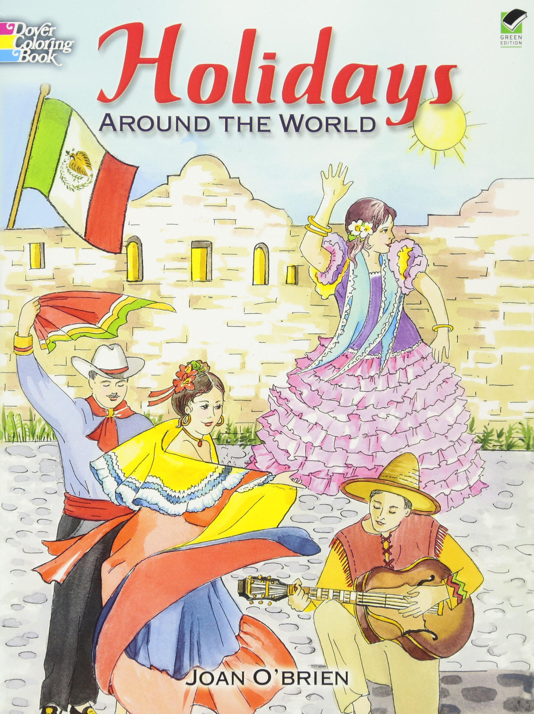Holidays around the world dover holiday coloring book joan obrien coloring books 9780486451619 amazon com books