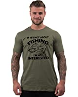 Bang Tidy Clothing Fishing Gifts for Fisherman If It's Not About Carp T Shirts for Men