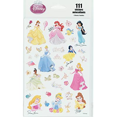 Disney Princess 111 Stickers: Toys & Games