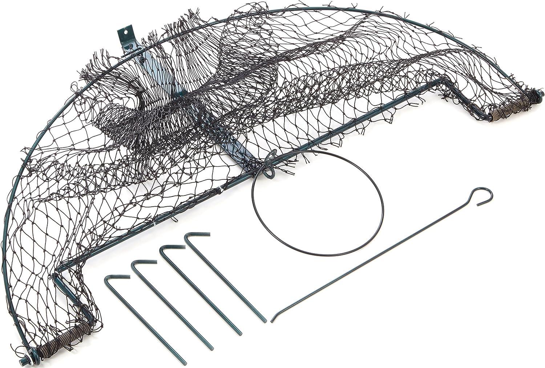 Trampa de red 100 cm Listo para uso inmediato I universal para animales pequeños I Trampa de red de impacto resistente a la intemperie I para aves, Trampa para palomas, para urracas para conejos