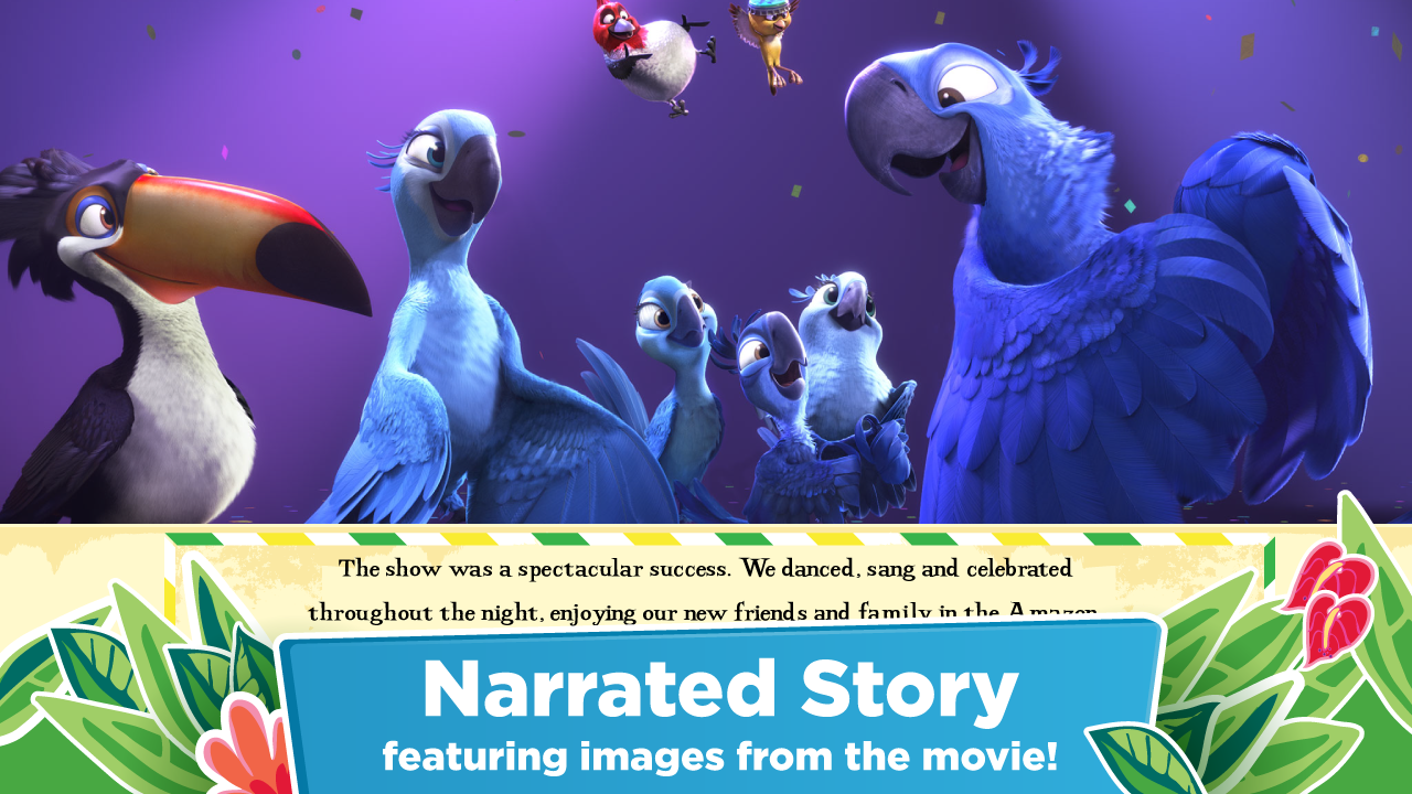 Amazon rio 2 official app for the movie appstore for android voltagebd Images