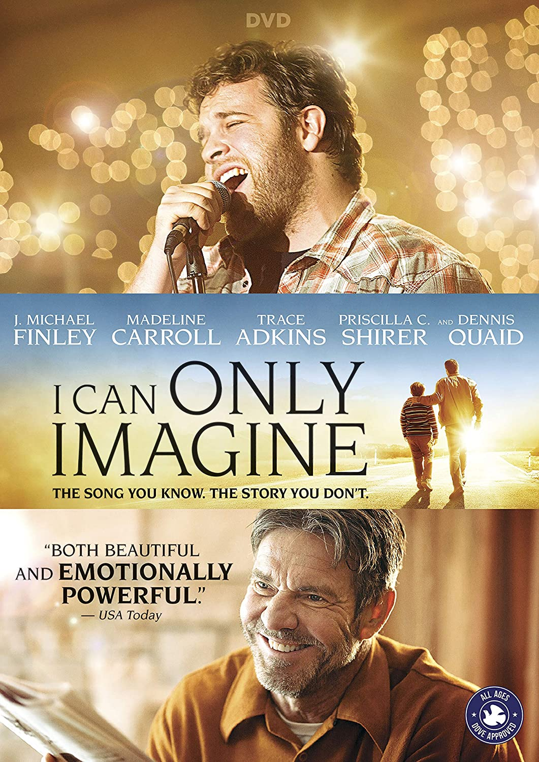 Amazon com: I Can Only Imagine: Madeline Carroll, Dennis