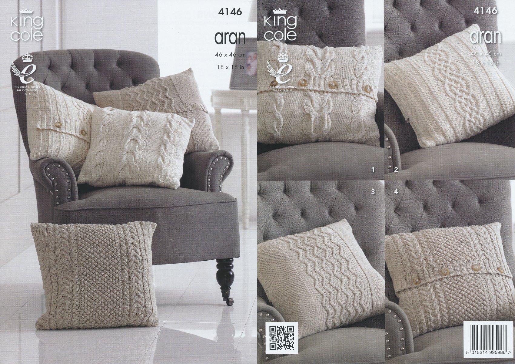 Knitting Patterns for Cushions: Amazon.co.uk