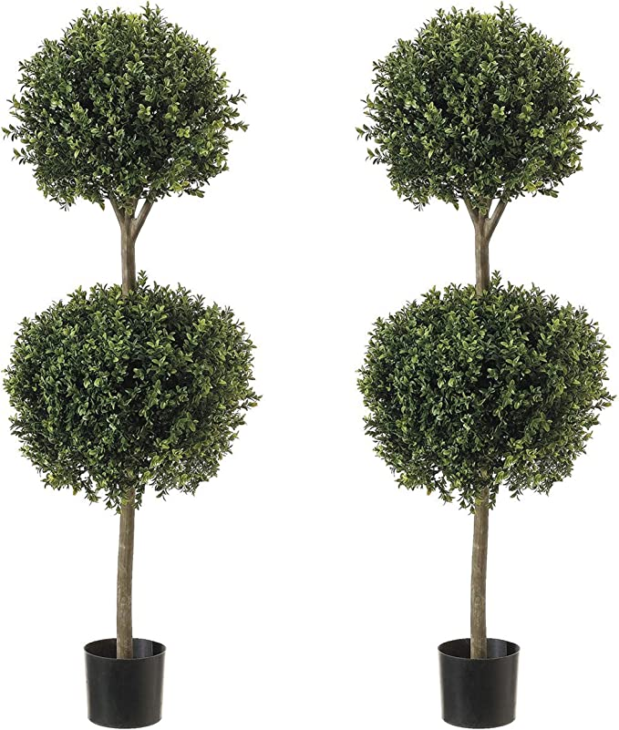 Dried Artificial Flowers 4ftx2 Artificial Buxus Balls Topiary Tree Boxwood Bonsai Plant Tower Floor Trees Home Furniture Diy Rpqualitycontrol Com Br