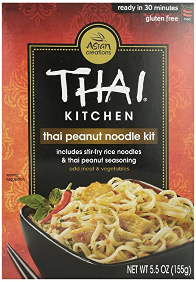 amazon com thai kitchen thai peanut stir fry noodles 5 5 oz rh amazon com