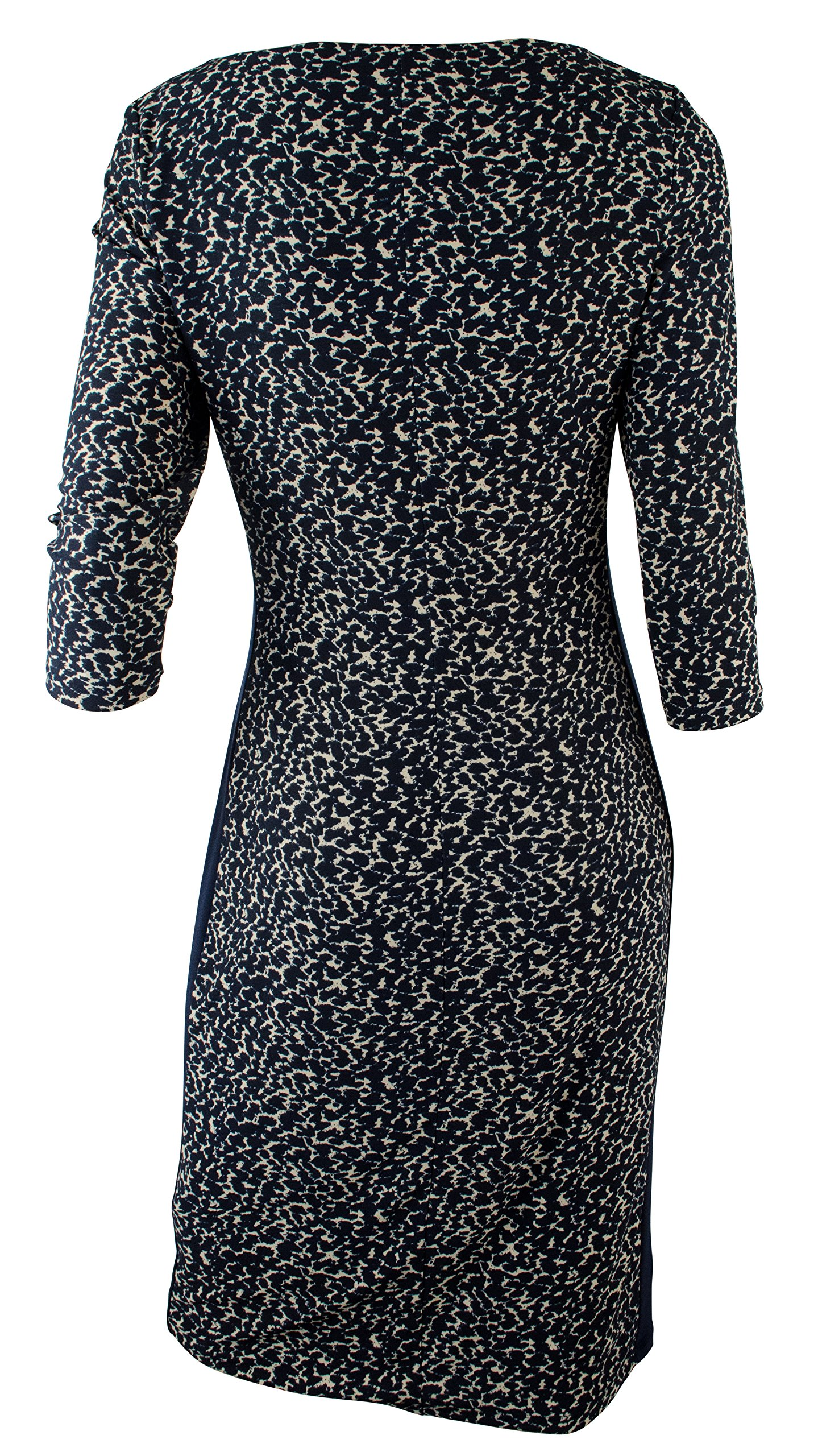 Ralph Lauren Women's Plus Print Bateau Neck Jersey Dress-BtLh-22W by RALPH LAUREN (Image #2)