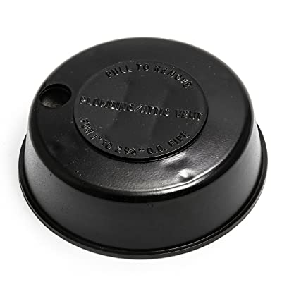 """Camco Replace-All Plumbing Vent Cap with Spring Attachment - Replaces Lost or Damaged RV Plumbing Vent Caps 