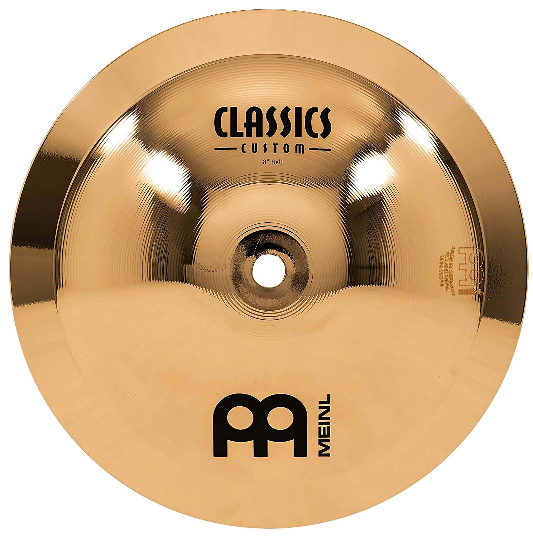 Meinl Cymbals CC8B-B Classics Custom 8-Inch Brilliant Bell