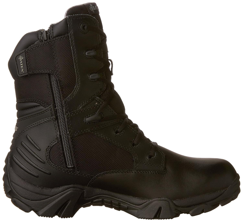 Bates Mens GX-8 Gore-Tex - 8 inch Leather Boots Schwarz - Gore-Tex Schwarz cf7a12