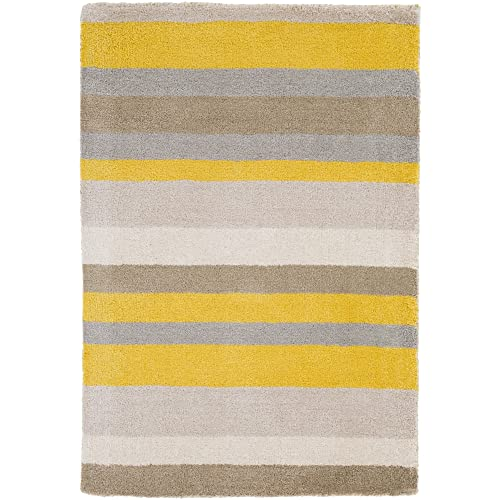 angelo HOME by Surya Madison Square MDS-1008 Transitional Hand Loomed 100 Wool Citrine 5 x 7 6 Geometric Area Rug