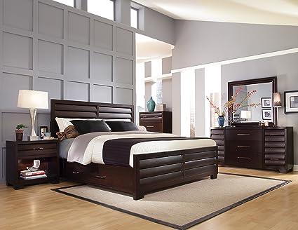 Genial Pulaski Sable 6 Piece Bedroom Set, King