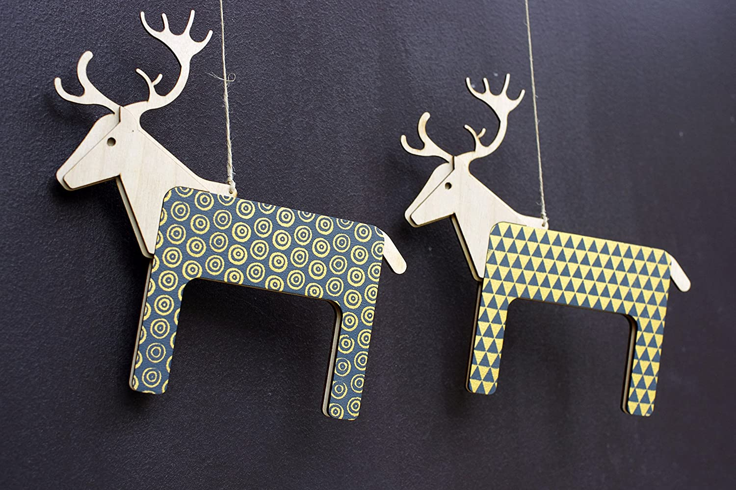 Reindeer Pattern Plywood Awesome Inspiration