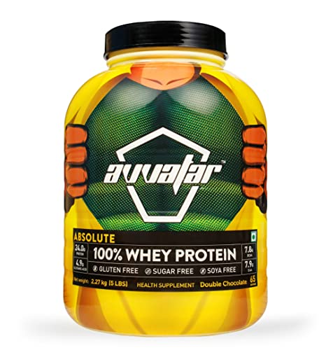 Avvatar Absolute 100% Whey Protein - 2 27 kg (Double Chocolate)