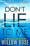 DON'T LIE TO ME (Eva Rae Thomas Mystery Book 1) (English Edition)