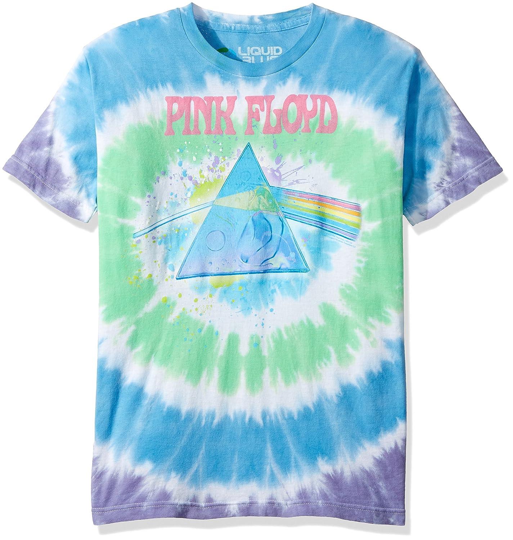 Amazon.com  Liquid Blue Men s Pink Floyd Dark Side Oil Paint Tie Dye Short  Sleeve T-Shirt  Clothing e29829844