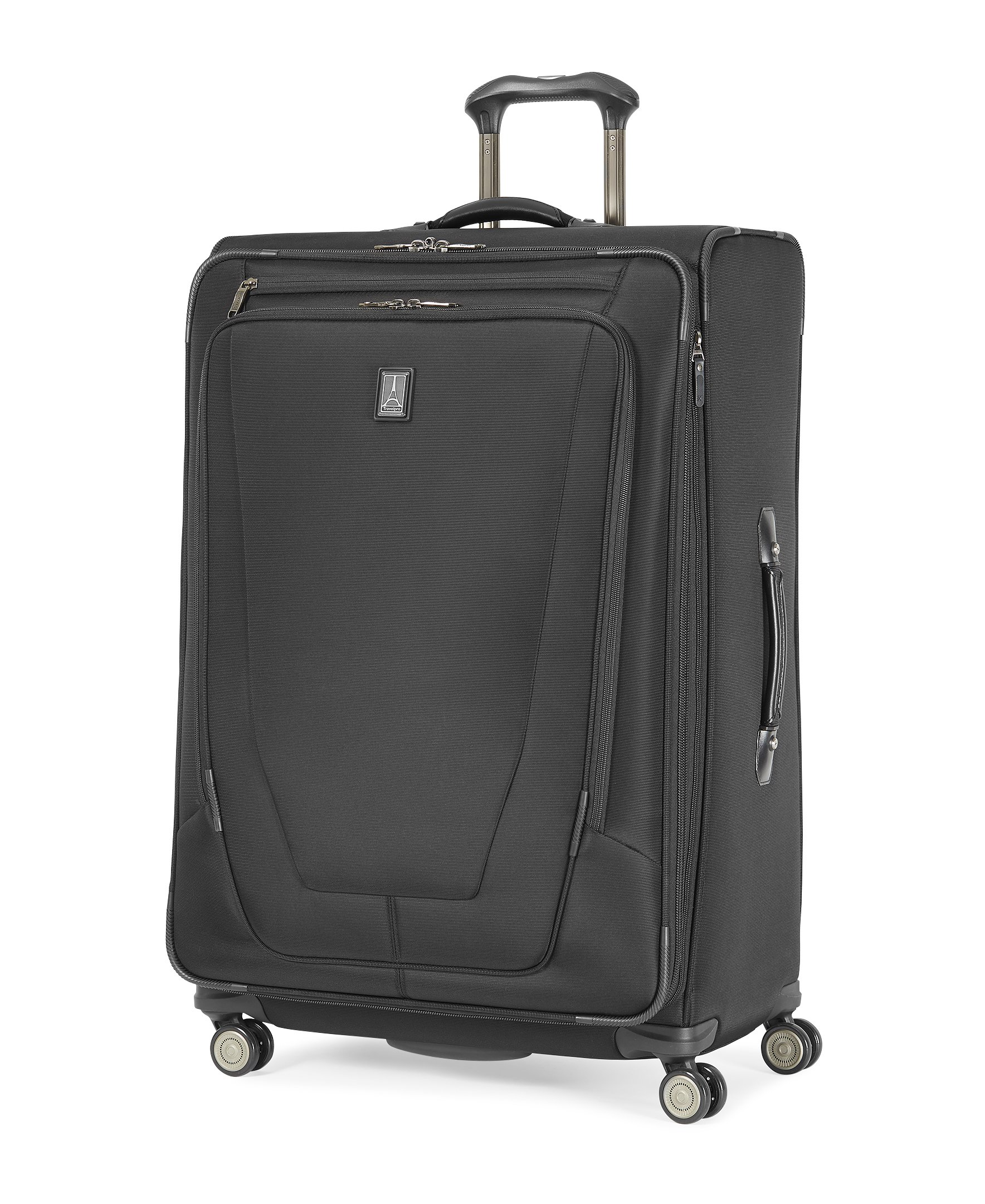 Travelpro Crew 11 29'' Expandable Spinner Suiter Suitcase, Black