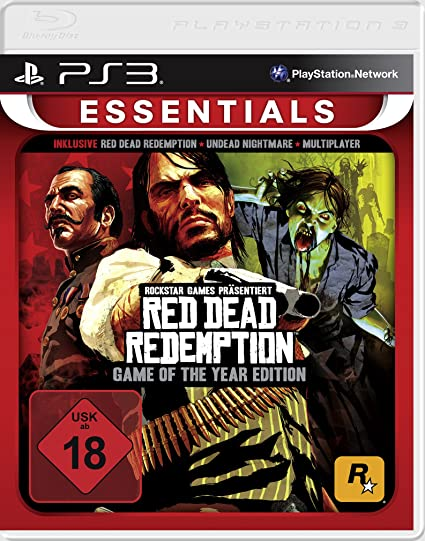 Red Dead Redemption GOTY Essentials (PS3) DE-Version: Amazon.es ...