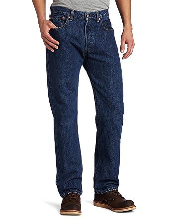 501 Original Fit Mens Jeans, Blue (Stonewash), 38W x 36L Levi's
