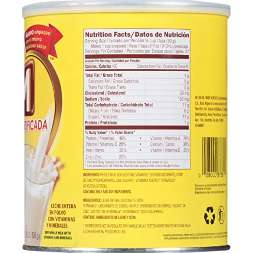 Amazon.com : Klim Instant Dry Whole Milk Powder Fortificada, 1.76 Pound : Grocery & Gourmet Food