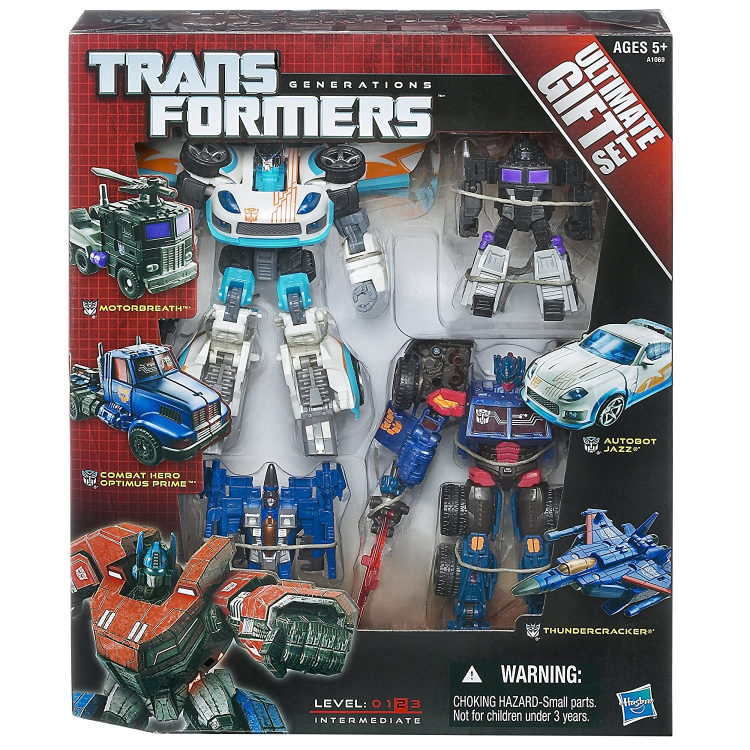 amazon com transformers generations ultimate gift set toys u0026 games