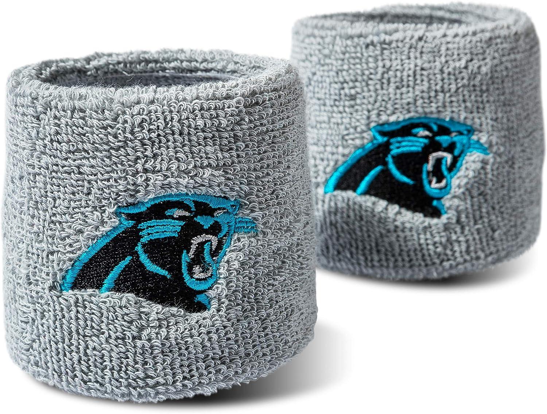 Franklin Sports Wristbands Cotton Sweatbands - Pair, 2-Pack