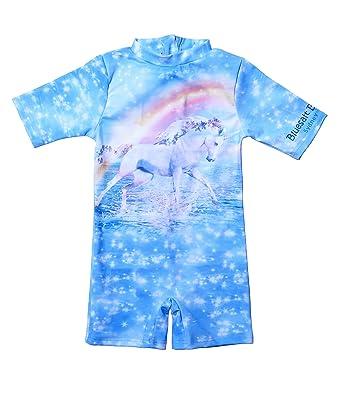 7d428f7590 Amazon.com  Bluesalt Beachwear Unicorn Sun Protection Rash Suit ...