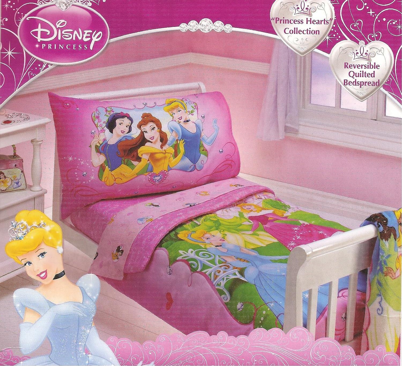 Amazon.com: Disney Princess 4 piezas juego de ropa de cama ...