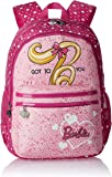 Barbie Nylon 43 cms Pink Children's Backpack (Age group :6-8 yrs)