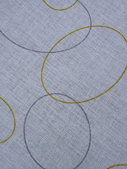 56dd6887ac94 Generico - Cortina de Cristal para Ventana y Ventana - Venta por Metro - Fantasía  Moderna - Fabricada en Italia - Efecto Lino - Disponible en Las Medidas 60  ...