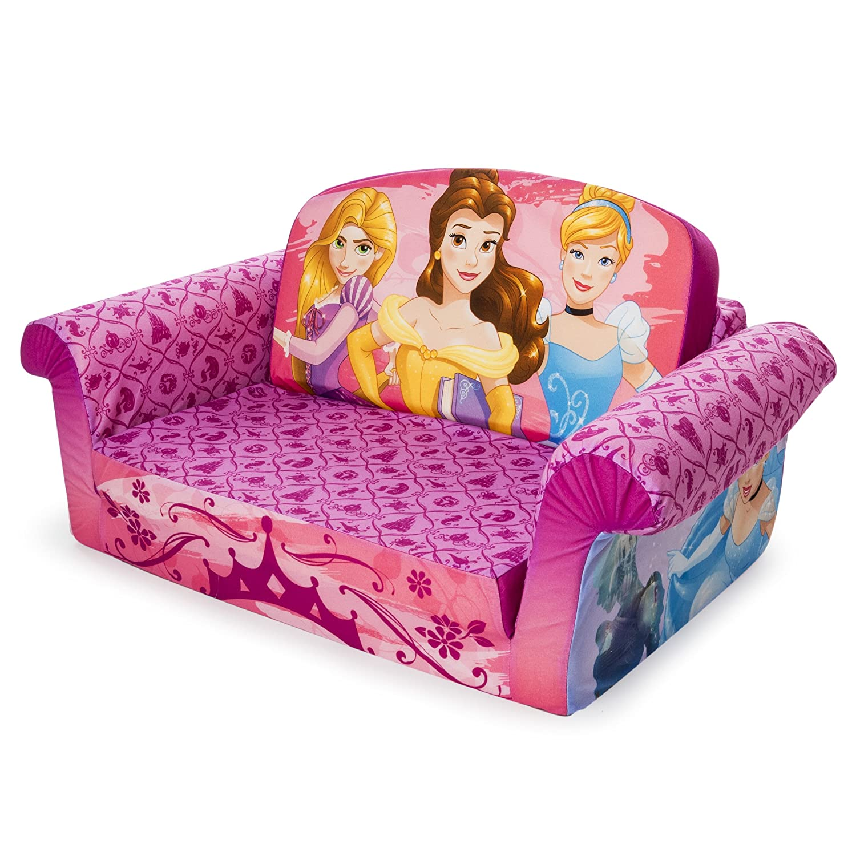 Outstanding Marshmallow Furniture Childrens 2 In 1 Flip Open Foam Sofa Disney Princess Flip Open Sofa Onthecornerstone Fun Painted Chair Ideas Images Onthecornerstoneorg