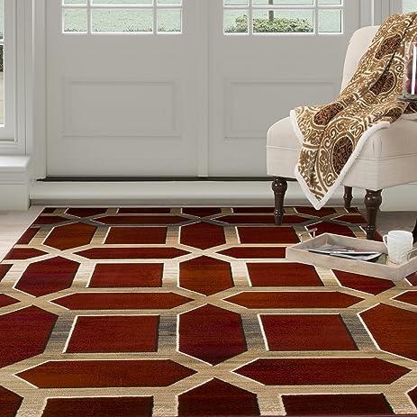 Lavish Home Opus Art Deco Area Rug, 3u00273u0026quot; ...