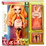 Rainbow Surprise Rainbow High Poppy Rowan - Orange Clothes Fashion Doll with 2 Complete Mix & Match Outfits and Accessories,