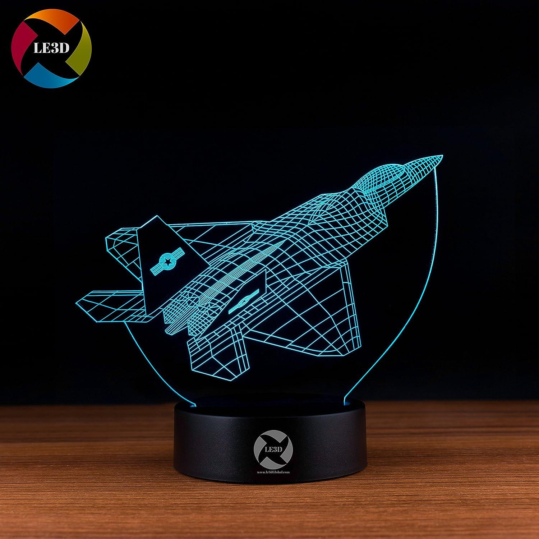 3D ナイトライト B072QL4HFW 10609 F-16 F16