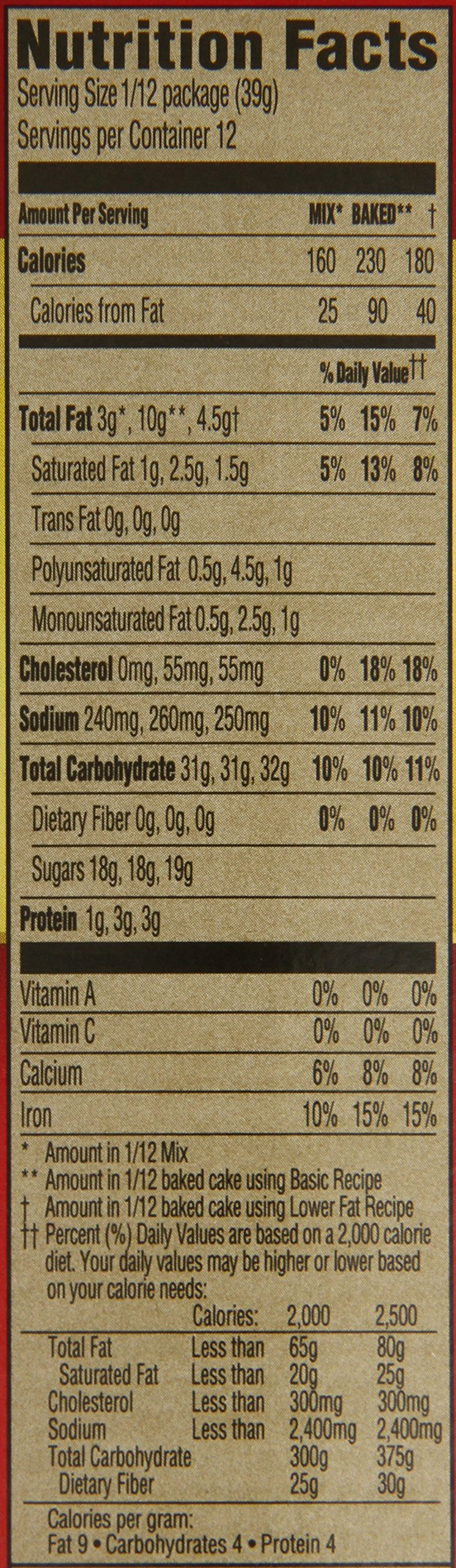 Duncan Hines Cake Mix, Fudge Marble, 16.5 Ounce (Pack of 12) by Duncan Hines (Image #2)