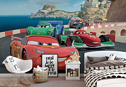 Disney Cars Lightning Mcqueen Bernoulli Photo Wallpaper