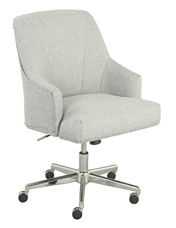 serta leighton home office chair ivory