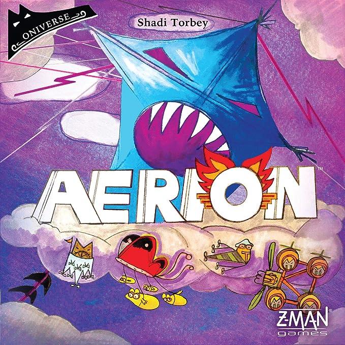 Z-Man Games ZMG4904 Aerion, colores variados , color/modelo surtido: Amazon.es: Juguetes y juegos