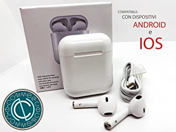 TWS i8 - Auriculares Bluetooth 4.2 con micrófono para iPhone 7, 8, X. Tipo Airpods Apple: Amazon.es: Electrónica